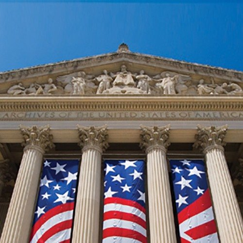 National Archives building in Washington, DC