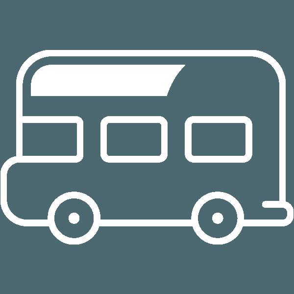 bus icon travel transportation