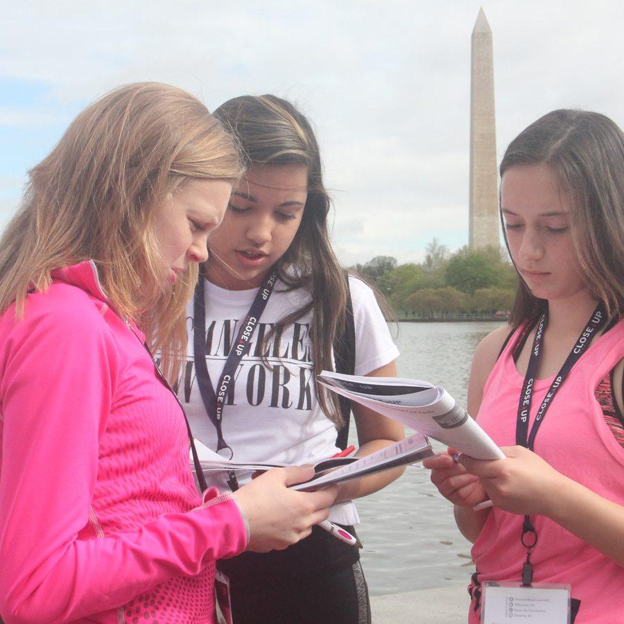 Washington Monument student learning