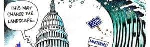 Political Cartoon 2018 Midterm elections
