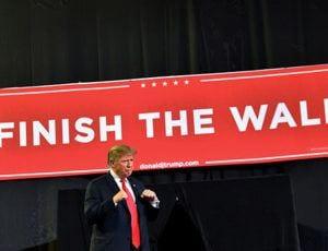 Finish the Boarder Will Trump